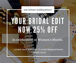 Your Bridal Edit Sale!